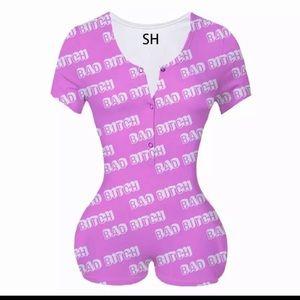 Women one piece sleepwear
